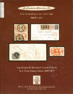 The Danial H. Richards collection New York foreign mail