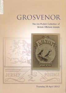 Auction of the Jim Mullett collection of British Offshore Islands, an outstanding specialised auction of 345 lots featuring rare postal history and German Occupation material and one of the finest collections ever formed of the island of Lundy