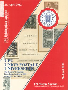 "UPU - Union Postal Universelle, the ""Severin"" collection, from penny postage in 1840 to the Universal Postal Union 1875-1995"